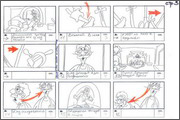 "Storyboard of animation ""Novy God na khutore bliz Dikanki. Ot zakata do rassveta""  - 49"