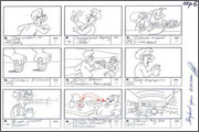"Storyboard of animation ""Novy God na khutore bliz Dikanki. Ot zakata do rassveta""  - 52"