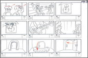 "Storyboard of animation ""Novy God na khutore bliz Dikanki. Ot zakata do rassveta""  - 55"