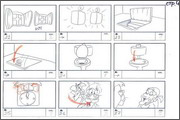 "Storyboard of animation ""Novy God na khutore bliz Dikanki. Ot zakata do rassveta""  - 56"