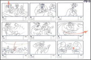 "Storyboard of animation ""Novy God na khutore bliz Dikanki. Ot zakata do rassveta""  - 58"