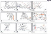 "Storyboard of animation ""Novy God na khutore bliz Dikanki. Ot zakata do rassveta""  - 59"