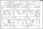 "Storyboard of animation ""Novy God na khutore bliz Dikanki. Ot zakata do rassveta""  - 61"