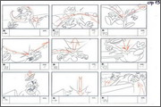 "Storyboard of animation ""Novy God na khutore bliz Dikanki. Ot zakata do rassveta""  - 65"