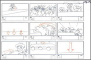 "Storyboard of animation ""Novy God na khutore bliz Dikanki. Ot zakata do rassveta""  - 66"