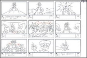 "Storyboard of animation ""Novy God na khutore bliz Dikanki. Ot zakata do rassveta""  - 70"