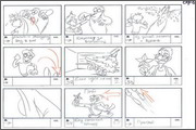 "Storyboard of animation ""Novy God na khutore bliz Dikanki. Ot zakata do rassveta""  - 73"