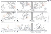 "Storyboard of animation ""Novy God na khutore bliz Dikanki. Ot zakata do rassveta""  - 74"