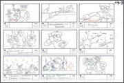 "Storyboard of animation ""Novy God na khutore bliz Dikanki. Ot zakata do rassveta""  - 76"