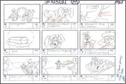 "Storyboard of animation ""Novy God na khutore bliz Dikanki. Ot zakata do rassveta""  - 80"