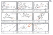 "Storyboard of animation ""Novy God na khutore bliz Dikanki. Ot zakata do rassveta""  - 81"