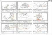 "Storyboard of animation ""Novy God na khutore bliz Dikanki. Ot zakata do rassveta""  - 82"