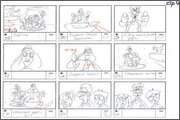 "Storyboard of animation ""Novy God na khutore bliz Dikanki. Ot zakata do rassveta""  - 83"