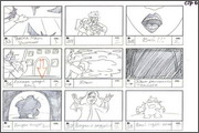 "Storyboard of animation ""Novy God na khutore bliz Dikanki. Ot zakata do rassveta""  - 85"