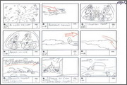 "Storyboard of animation ""Novy God na khutore bliz Dikanki. Ot zakata do rassveta""  - 91"