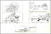 "Storyboard for animation ""Humorous rhymes of sadist"" - 16"