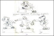 "Storyboard for animation ""Humorous rhymes of sadist"" - 22"