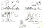 "Storyboard for animation ""Humorous rhymes of sadist"" - 4"