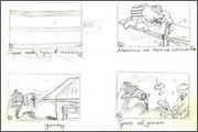 "Storyboard for animation ""Humorous rhymes of sadist"" - 6"