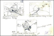 "Storyboard for animation ""Humorous rhymes of sadist"" - 9"