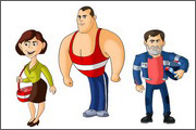 "Pictures and images for animation serial ""Unusual Adventures of Zina and Kesha"" - 9"