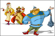 Pictures and images for animation: heroes, kings, princesses, Dragon - 12