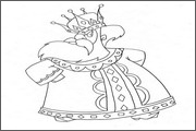 Pictures and images for animation: heroes, kings, princesses, Dragon - 35