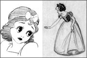 Animated feature «Snow White and the Seven Dwarfs» (1937) - the story behind the scenes film award - 23
