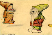 Animated feature «Snow White and the Seven Dwarfs» (1937) - the story behind the scenes film award - 24