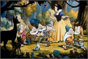 Animated feature «Snow White and the Seven Dwarfs» (1937) - the story behind the scenes film award - 35
