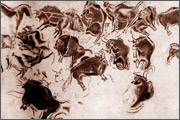 Cave paintings - the first attempts to capture movement