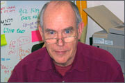 Ivan Sutherland - has developed an interactive system of solving problems with constraints on the vector display