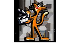 Кот - логотип и символ Одесской Студии Мультипликации